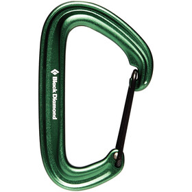 Black Diamond Litewire Mosquetón, green